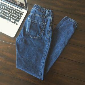Denim Skinny Jeans: Forever 21